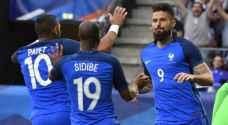 فرنسا تكتسح الباراغواي بخماسية