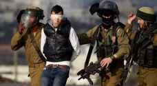 الاحتلال يعتقل ٨ فلسطينيين