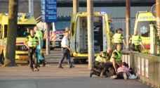 بالصور.. إصابات في حادثة دهس أمام محطة القطارات في امستردام