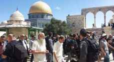 توتر شديد في محيط المسجد الأقصى