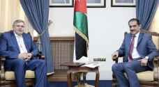 الخزاعلة يبحث والسفير الروسي العلاقات البرلمانية