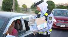 بالصور.. شرطيات سير في الاردن يتحدين ظروف العمل بالإرادة