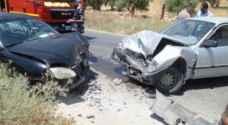 ١١ إصابة بحادثي تصادم في عمان