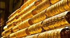 الذهب يهبط