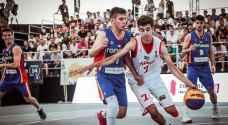 منتخبنا الوطني للسلة يتلقى خسارتين ببطولة العالم لكرة السلة ٣×٣