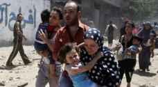 غارات التحالف الدولي تقتل ٢٢٤ مدنياً منذ بدء معارك الرقة