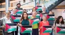 نواب إسبان أمام البرلمان الأوروبي: الحرية للاسيرات الفلسطينيات