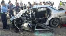 وفاة و١١ إصابة بحوادث في إربد ومادبا