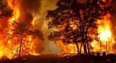الجزائر .. حرائق تلتهم أكثر من الف هكتار من الغابات خلال ٤٨ ساعة