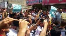بالصور.. مسيرة حاشدة في إربد تضامنا مع 'الأقصى'