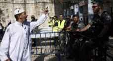 الاحتلال يرفض رفع بوابات كشف المعادن من منطقة الحرم القدسي