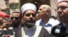 مدير المسجد الأقصى: الاعتصامات السلمية نجحت