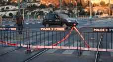 الاحتلال يغلق شوارع القدس وينشر الاف الجنود