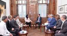 وفد برلماني تونسي يلتقي الأسد في دمشق
