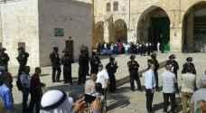 أوقاف القدس: لا نواقص بالموجودات رغم العبث والتخريب