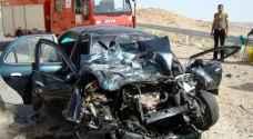 وفاة بحادث سير على طريق جرف الدراويش