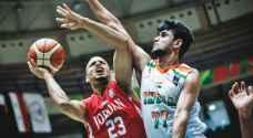 منتخب السلة يواجه ايران في كأس آسيا