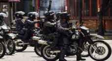 اعتقال ١٨ شخصا بعد الهجوم على قاعدة عسكرية في فنزويلا