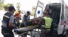 ٧٤ إصابة نتيجة ١٦٦ حادثا مختلفا