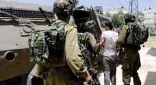 الاحتلال يعتقل ١٥ فلسطينيا في الضفة الغربية