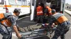 وفاتان و٩٣ إصابة نتيجة ١٥٥ حادثا مختلفا