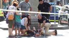 فيديو يظهر لحظة تنفيذ هجوم برشلونة