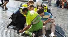 ١١ فرنسيا في 'حالة خطيرة' بعد هجوم برشلونة