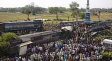 الهند تحقق في رابع حادث قطار ضخم خلال عام