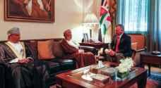 الملك يستقبل الوزير المسؤول عن الشؤون الخارجية في سلطنة عُمان