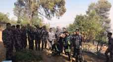 الدفاع المدني يتمكن من اخماد حريق غابات دبين .. فيديو