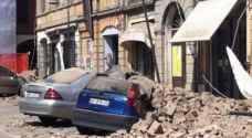 زلزال يهز جزيرة إيطالية وانهيار مبان