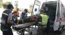 ١٣ إصابة في ثلاثة حوادث سير