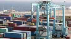تراجع حركة المستوردات وارتفاع الصادرات عبر ميناء العقبة