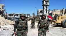 ٣٤ قتيلا عنصرا من قوات النظام السوري بايدي داعش في الرقة