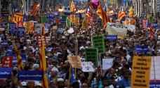 مسيرة في برشلونة تحت شعار 'لست خائفا'