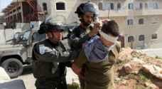 الاحتلال يعتقل ٩ مواطنين بالضفة