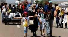 عشرات آلاف السوريين يعودون الى بلادهم من تركيا للاحتفال بالعيد