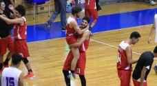 منتخب الناشئين يحقق فوزه الأول ببطولة غرب آسيا لكرة السلة