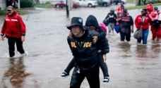 العاصفة هارفي قتلت ٣٨ شخصا