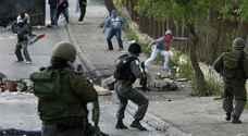 اصابات في مواجهات بين شبان فلسطينيين وجيش الاحتلال