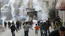 إصابة ١١ فلسطينيا شرق القدس
