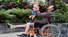 """أول شخص في العالم يجري جراحة في ساقه بتقنية طابعة """"٣D"""" في أستراليا"""