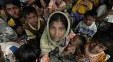 ٢٧٠ الف لاجئ من الروهينغا يصلون الى بنغلادش