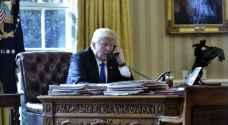 ترمب يجري اتصالا هاتفيا مع ولي العهد السعودي