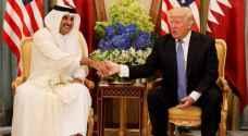 ترمب يؤكد لأمير قطر 'أهمية الوحدة في محاربة الإرهاب'