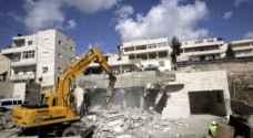 الاحتلال يهدم مبنى سكنياً بالقدس
