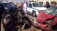 ١١ إصابة بحادثي سير في إربد وعمان