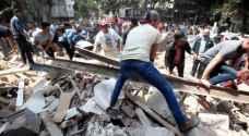 مقتل ٢١ طفلا بانهيار مدرسة جراء الزلزال في المكسيك