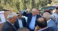 هلسة: إصلاح طريق  إربد - عمان في مراحله الأخيرة