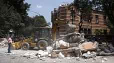 لحظات مرعبة من زلزال المكسيك.. فيديو